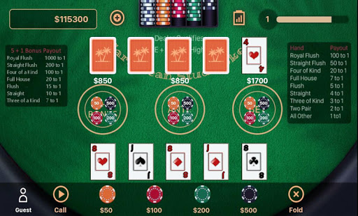Caribbean Stud Poker 1.2.3 screenshots 10