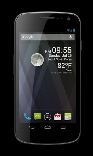 Weather Clock Widget 1.9.8.3-30 Screenshots 3