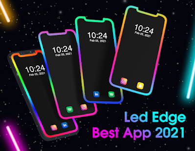LED Edge Lighting: Edge Notification on Call & SMS Screenshot