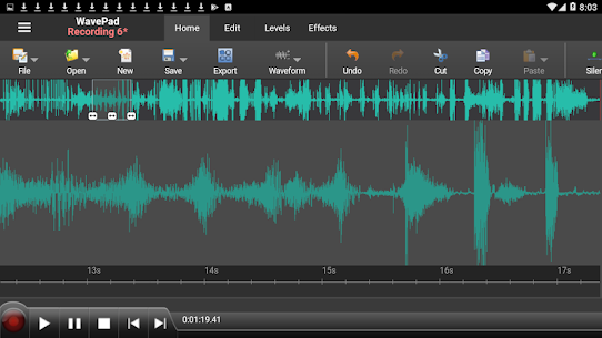 WavePad Master's Edition APK 12.01 (Paid for free) 1
