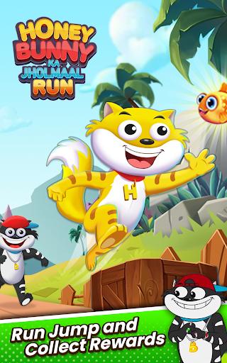 Honey Bunny Ka Jholmaal Games : Rise Up Jump & Run screenshots 2