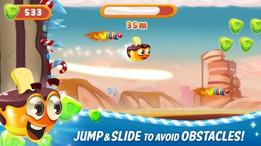 sweet racer - draw & slide in candyworld! screenshot 3