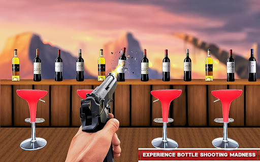 Real Bottle Shooting Free Games: 3D Shooting Games android2mod screenshots 5