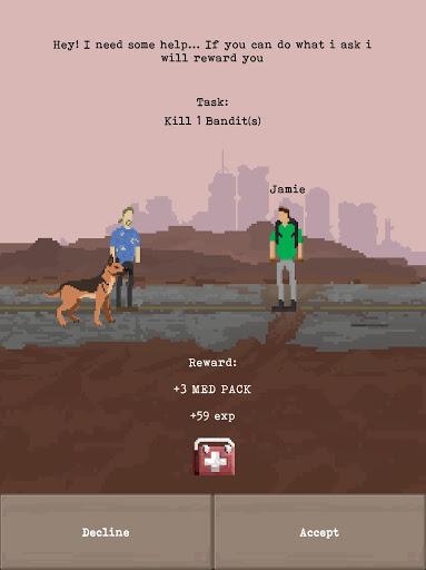 u2622 The Wanderer - Post-Apocalyptic RPG Survival  screenshots 21