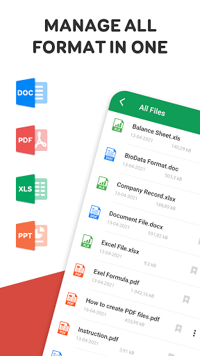 All Document Viewer - PDF, word, excel, Documents  screenshots 1