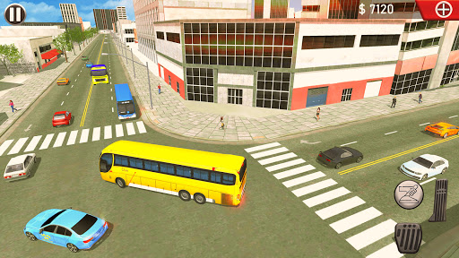 Taxi Sim Game free: Taxi Driver 3D - New 2021 Game apkslow screenshots 5