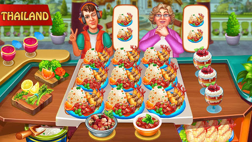 Cooking Day - Chef's Restaurant Food Cooking Game apkslow screenshots 6