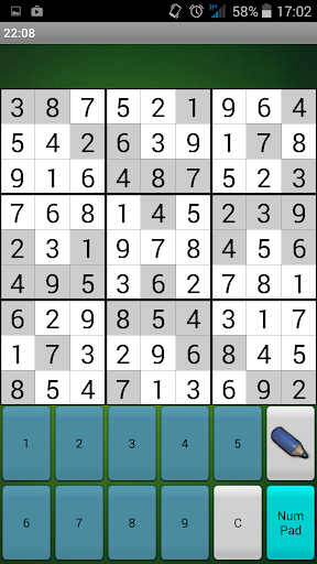 Sudoku classico screenshots 4