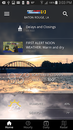 WAFB First Alert Weather Apk 1