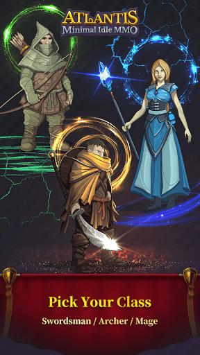 Atlantis minimal idle MMO screenshots 5
