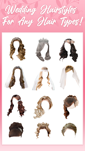 Wedding Hairstyles 2020 2.3.8 Screenshots 16