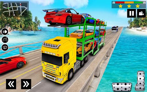 Car Transporter Truck Simulator-Carrier Truck Game 1.7.5 screenshots 5