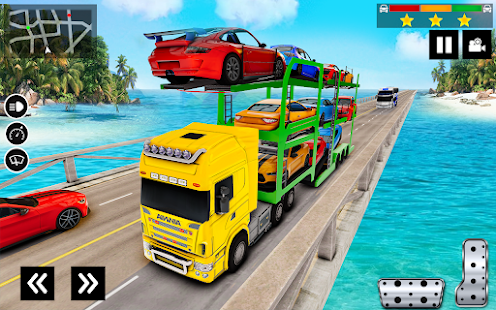 Car Transporter Truck Simulator-Carrier Truck Game 1.7.3 Screenshots 5