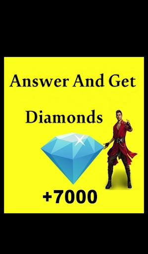 Quiz Free u2564 Fire Get Diamonds 2021  Screenshots 1