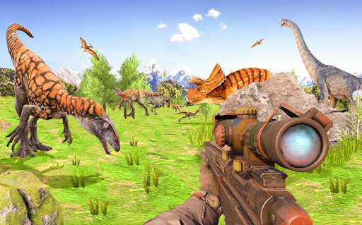 Best Dinosaur Shooting Games: Dino Hunt Shelter  screenshots 13