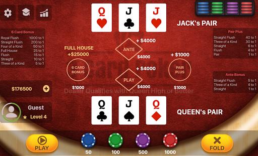 Three Card Poker 2.0.5 screenshots 12