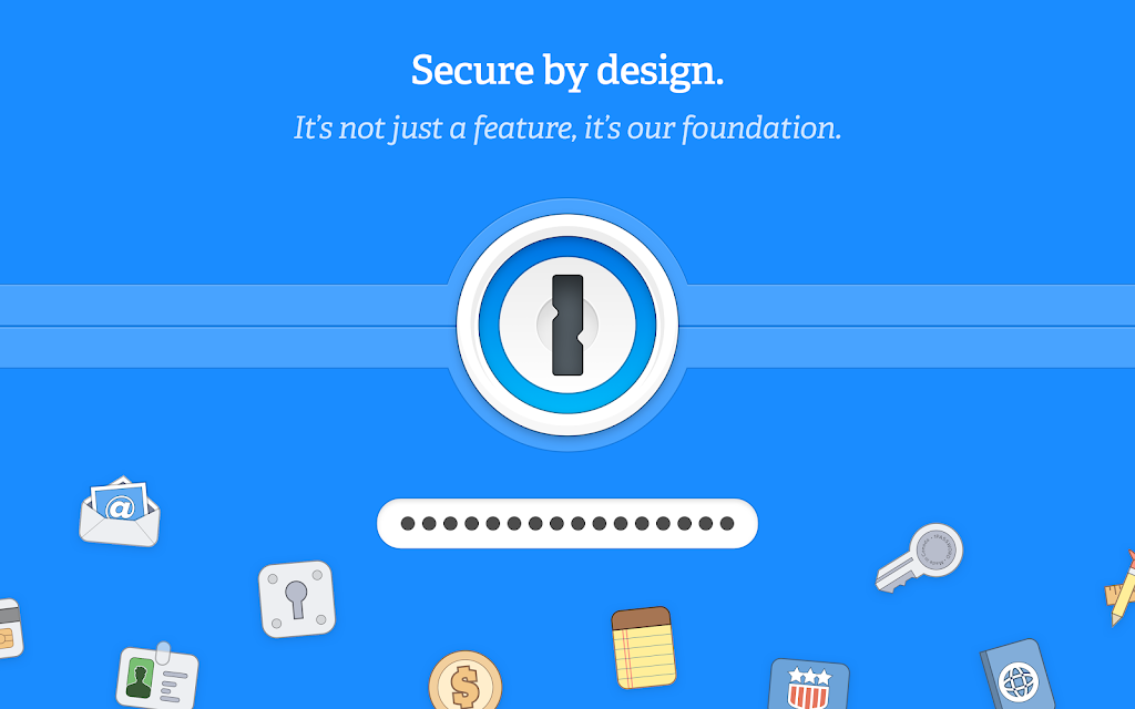 1Password - Password Manager and Secure Wallet  poster 6