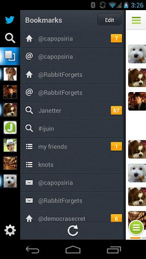 Janetter Pro for Twitter screen 1