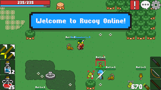 Download Rucoy Online Mod Apk [Unlimited Money/Free Shopping] 1