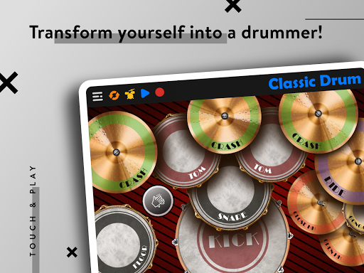 CLASSIC DRUM: Electronic drum set 7.5.6 Screenshots 11