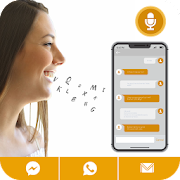 Write Message by Voice: Write SMS by voice