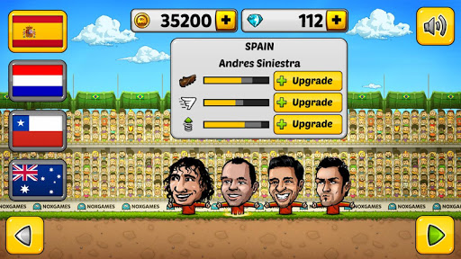 u26bdPuppet Soccer 2014 - Big Head Football ud83cudfc6  screenshots 5