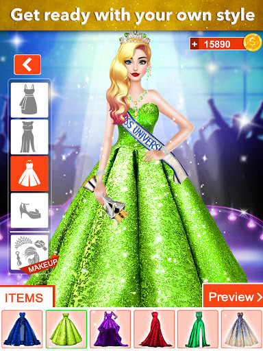 Fashion Girls Makeover Stylist - Dress up Games 0.7 screenshots 10