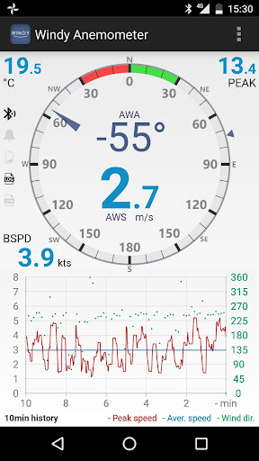 Windy Anemometer 2.0.1 Screenshots 2