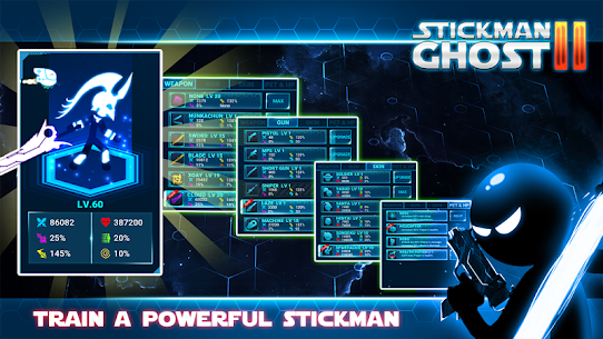 Stickman Ghost 2 v6.6 MOD APK – Galaxy Wars Shadow Action RPG 3