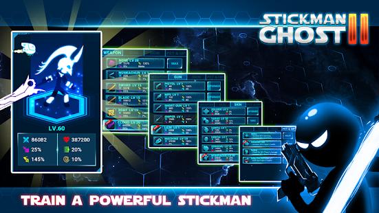 Stickman Ghost 2: Galaxy Wars screenshots 3