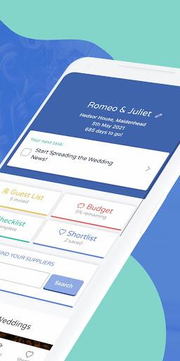 Bridebook - Wedding Planning App 1.9.66 Screenshots 2