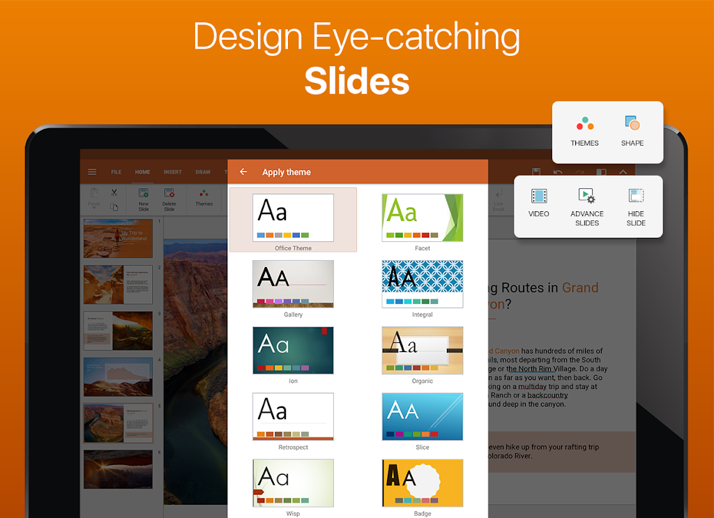 OfficeSuite - Word docs, Excel sheets, PDF & more  poster 16