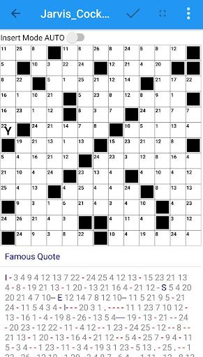 Codeword Puzzles Word games, fun Cipher crosswords 7.5 screenshots 6