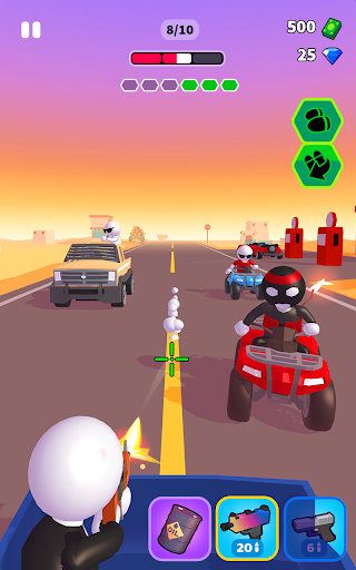 Rage Road - Car Shooting Game screenshots 7