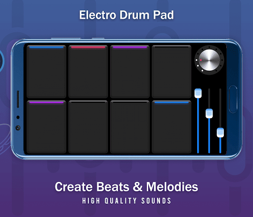 Real Electro Drum Pad - Hip Hop Electro Music Drum  screenshots 4