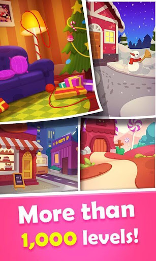 Sweet Candy Mania - Free Match 3 Puzzle Game screenshots 3
