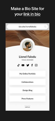 Unfold u2014 Story Maker & Instagram Template Editor apktram screenshots 3