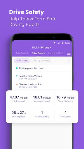 Parental Control App & Location Tracker - FamiSafe 4.5.4.165 Screenshots 8