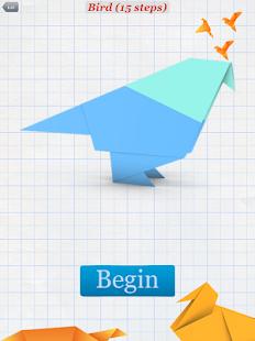 How to Make Origami Birds