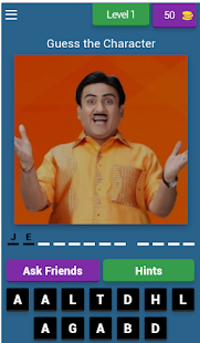 TMKOC Characters |Solve- Quiz 8.5.4 APK + Мод (Unlimited money) за Android