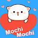 Pegatinas de gato mochi melocotón par WhatsApp - Androidアプリ