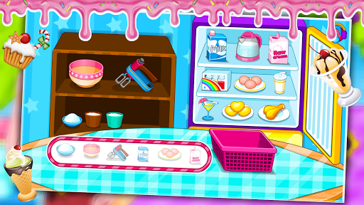 Code Triche Ladybug Cooking Ice Cream mod apk screenshots 3