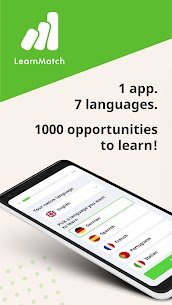 Learn Match: Learn Languages, Learn English 1