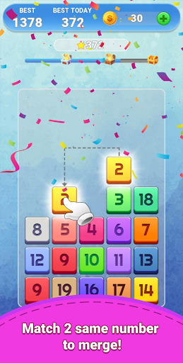 Merge Number Puzzle  screenshots 17
