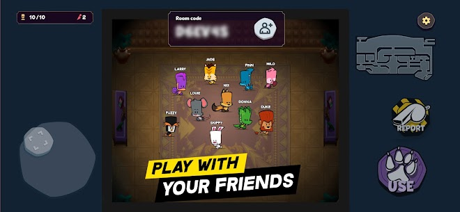 Suspects Mod Apk: Mystery Mansion (Show Impostor/Max Light) 6