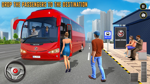 Modern Bus Simulator: Ultimate Bus Driving Games Varies with device screenshots 12
