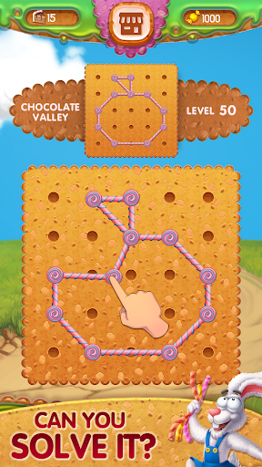 Toffee : Line Puzzle Game. Free Rope Shapes Game apkpoly screenshots 3