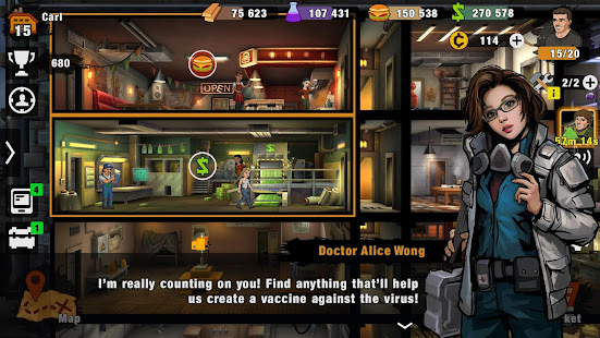 Hack Game Zero City: Last bunker. Shelter & Survival Games apk free