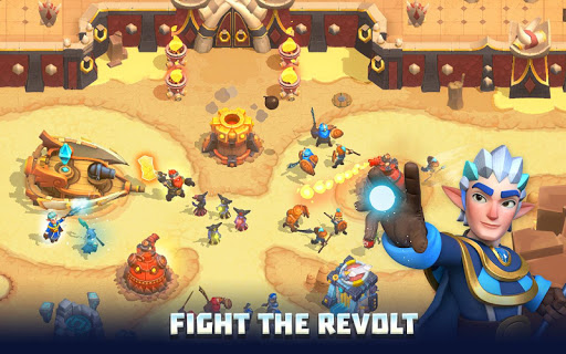 Wild Sky TD: Tower Defense Legends in Sky Kingdom  screenshots 15