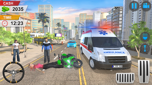 Emergency Ambulance Game - New Games 2020 Offline 1.1.14 screenshots 1